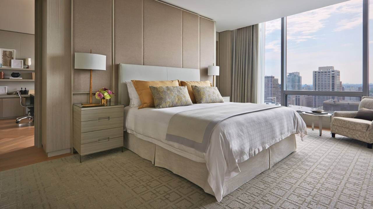 The Largest And Most Prestigious Luxury Suite At Five Star Four Seasons Hotel Toronto