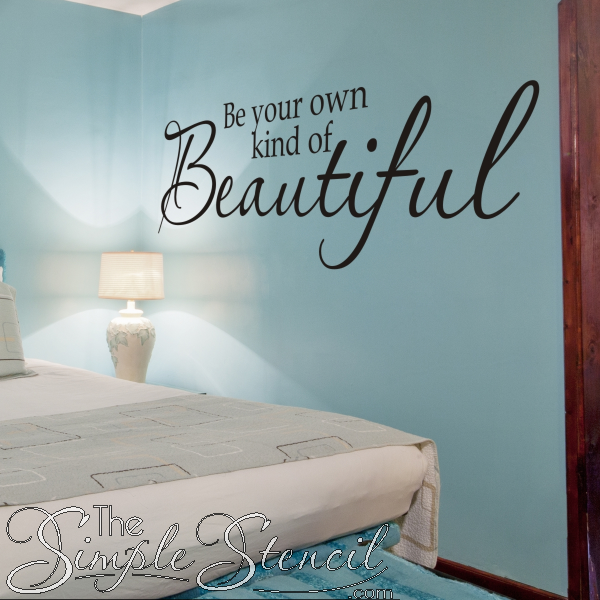 Love Makes Life Complete Motto Bedroom Room Decal Wall Art Sticker Picture