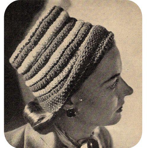 Striped Toque Hat Crochet Pattern Crochet A Hat For Fun