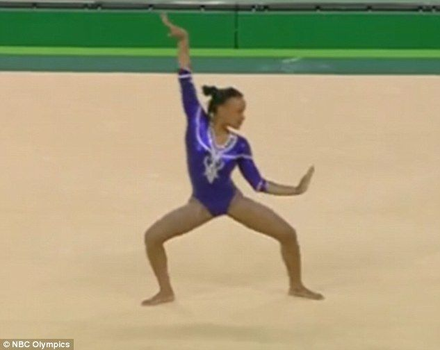 Watch This Gymnast Slay Her Beyonce Inspired Floor Routine Gymnastics Floor Routine Music Gymnastics Floor Music Songs Gymnastics Music