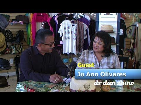 Join the dr dan show host: Dan Contreras with guest: Jo Ann Olivares as they talk about the changes in Oxnard CA Filmed on Location at Frida's Treasures in Oxnard CA