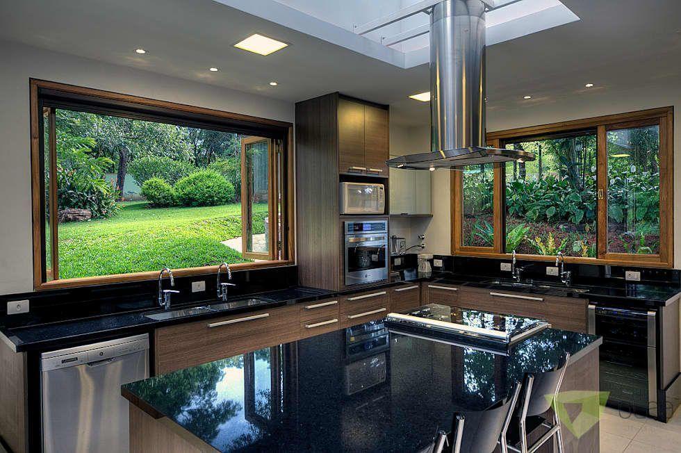 Cocinas de estilo rural por Olaa Arquitetos ...