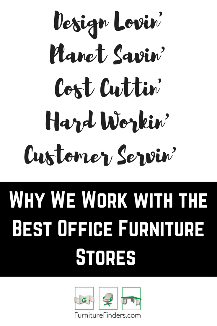 Where to find used office furniture stores from the best