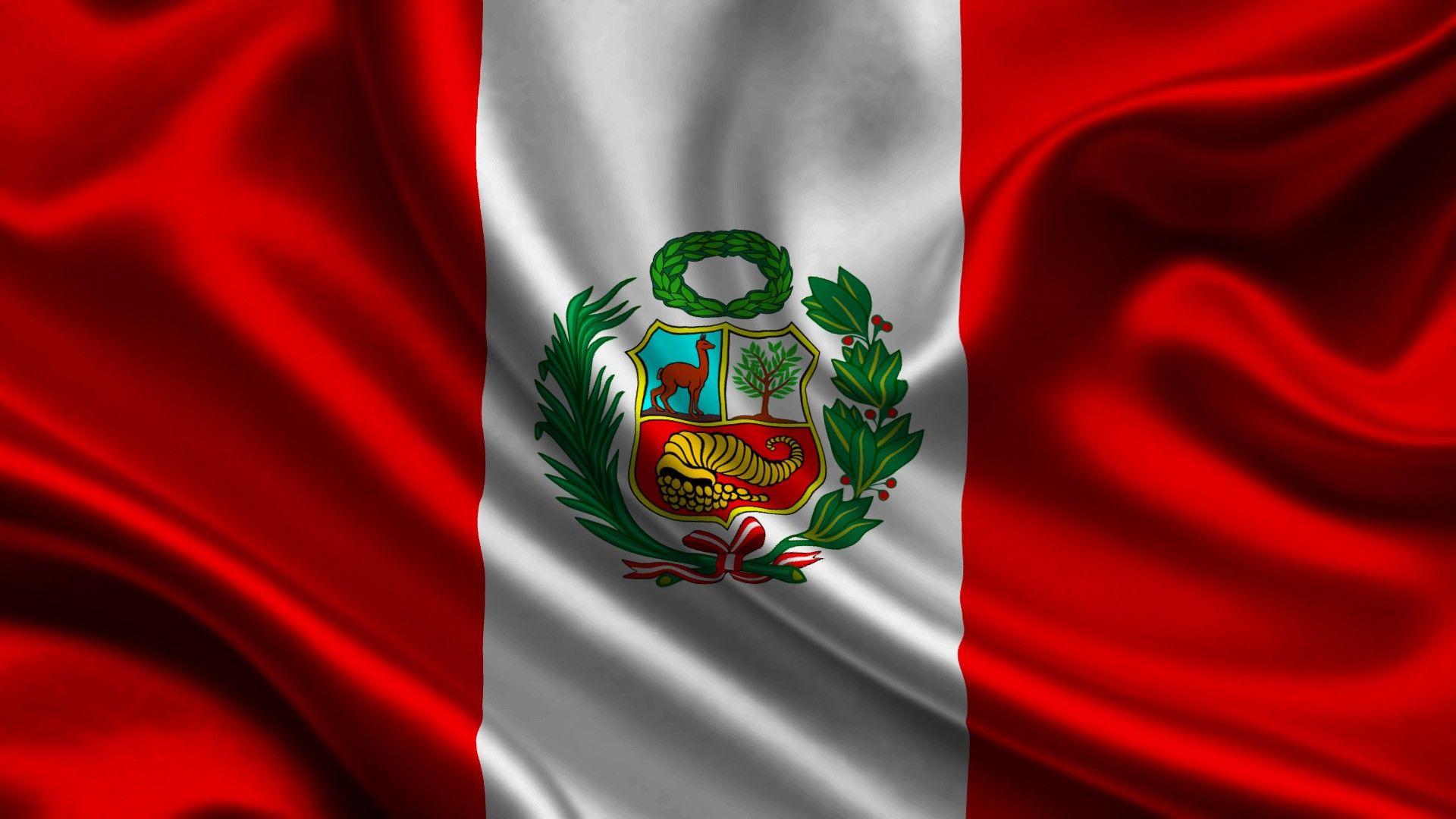 Peru Flag Wallpaper Peru Flag Peru Peru Tourism