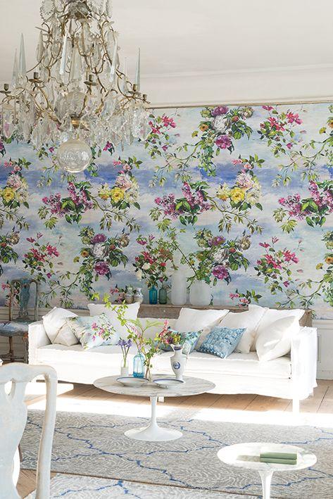 Designers Guild Caprifoglio wallpaper