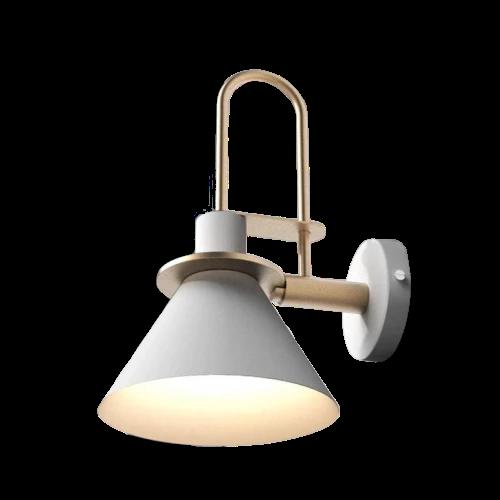 Oklak White Light Fixture On Wall Pendant Lamp Shade Wall