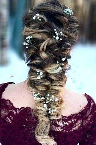 best beautiful and cutest mermaid hairstyle design hair color for halloween prom also rh pinterest