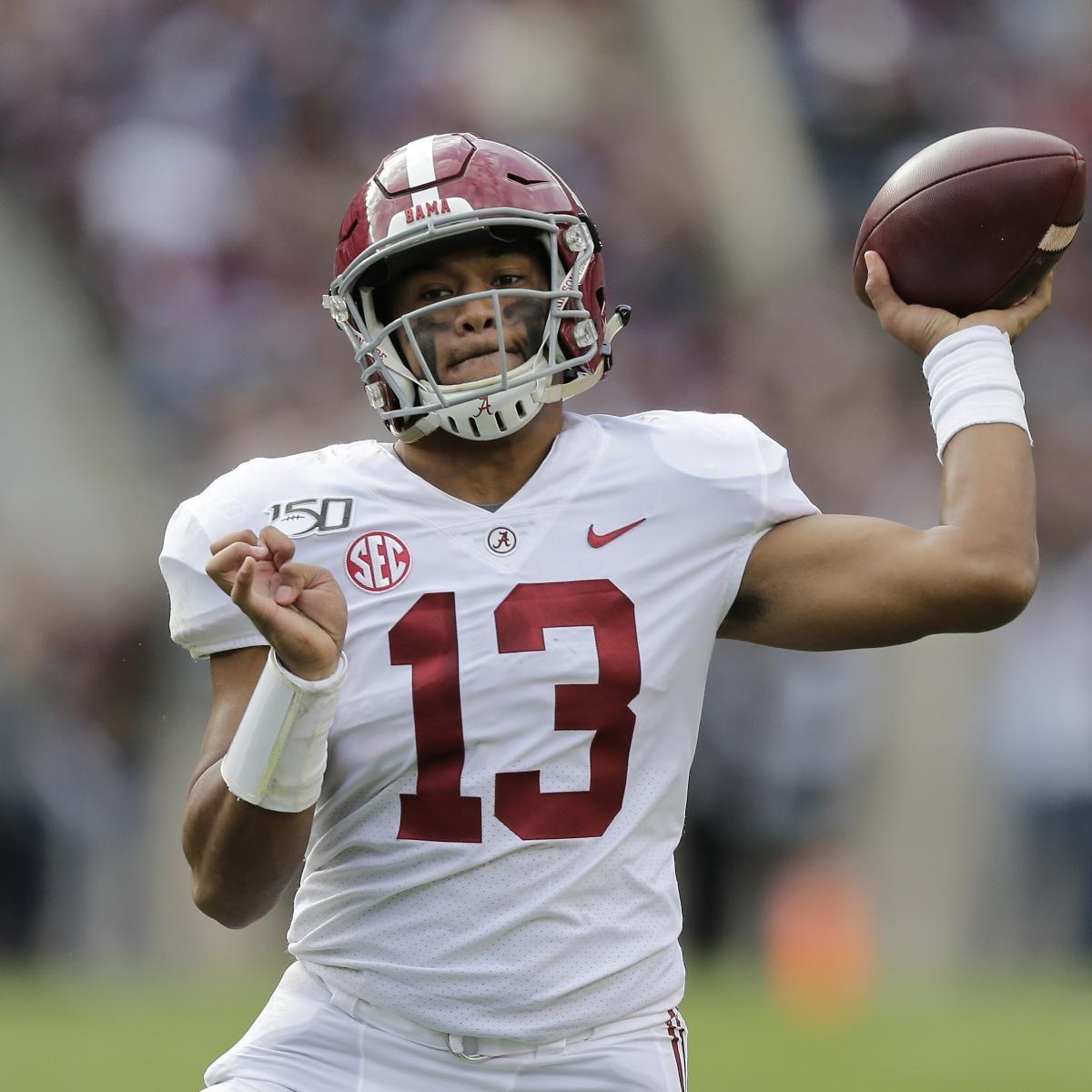 Alabama Qb Tua Tagovailoa Declares For 2020 Nfl Draft Despite Hip