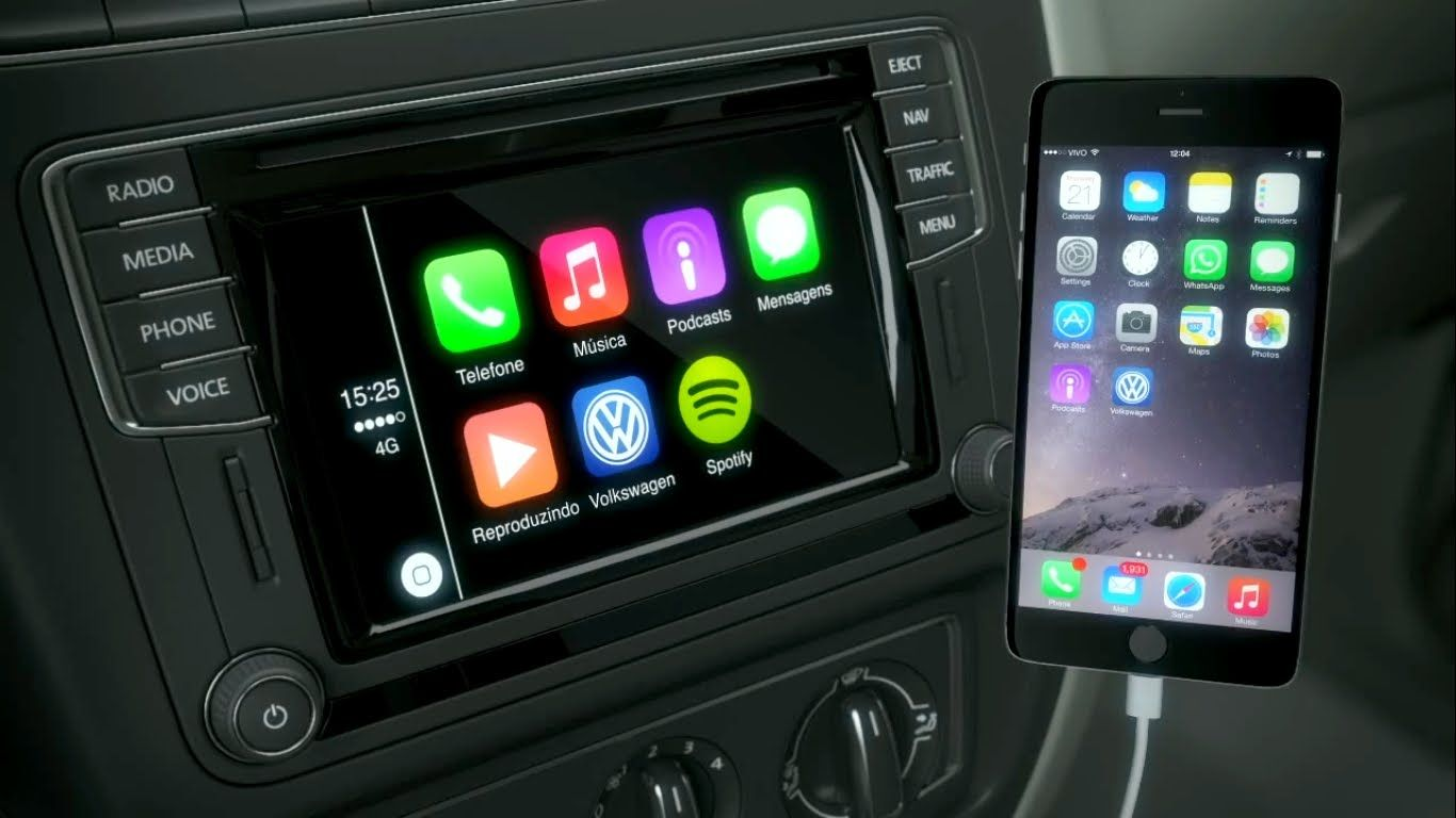 volkswagen app connect canalautomotivos technology. Black Bedroom Furniture Sets. Home Design Ideas