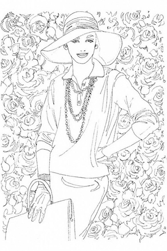 Vogue Wants You To Start Coloring Again Adult ColoringColoring BooksColoring