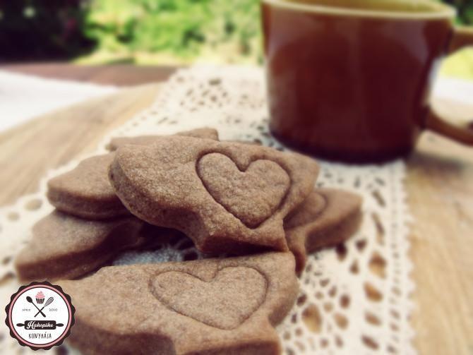 Egyszerű kakaós keksz – nagyszerű töltelékkel