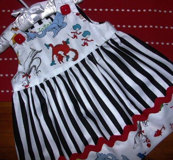 Dr Seuss Dress