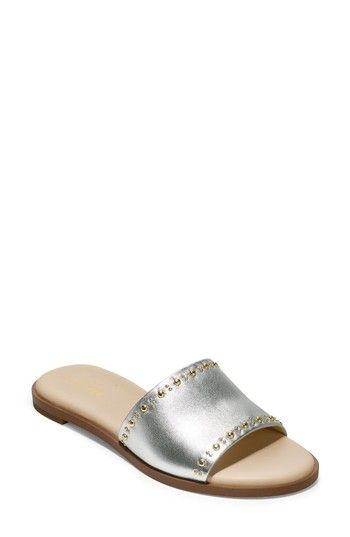 8ec44501194d COLE HAAN ANICA SLIDE SANDAL.  colehaan  shoes