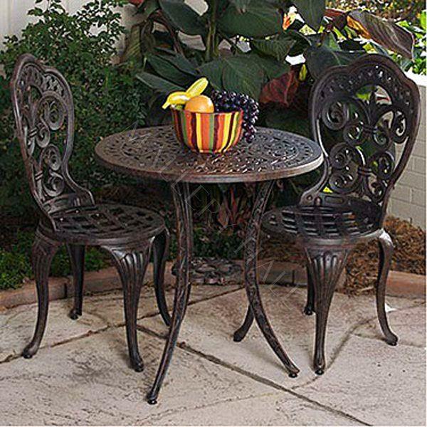 3 Pc Spanish Bistro Set 297 00 Bistro Table Outdoor 400 x 300