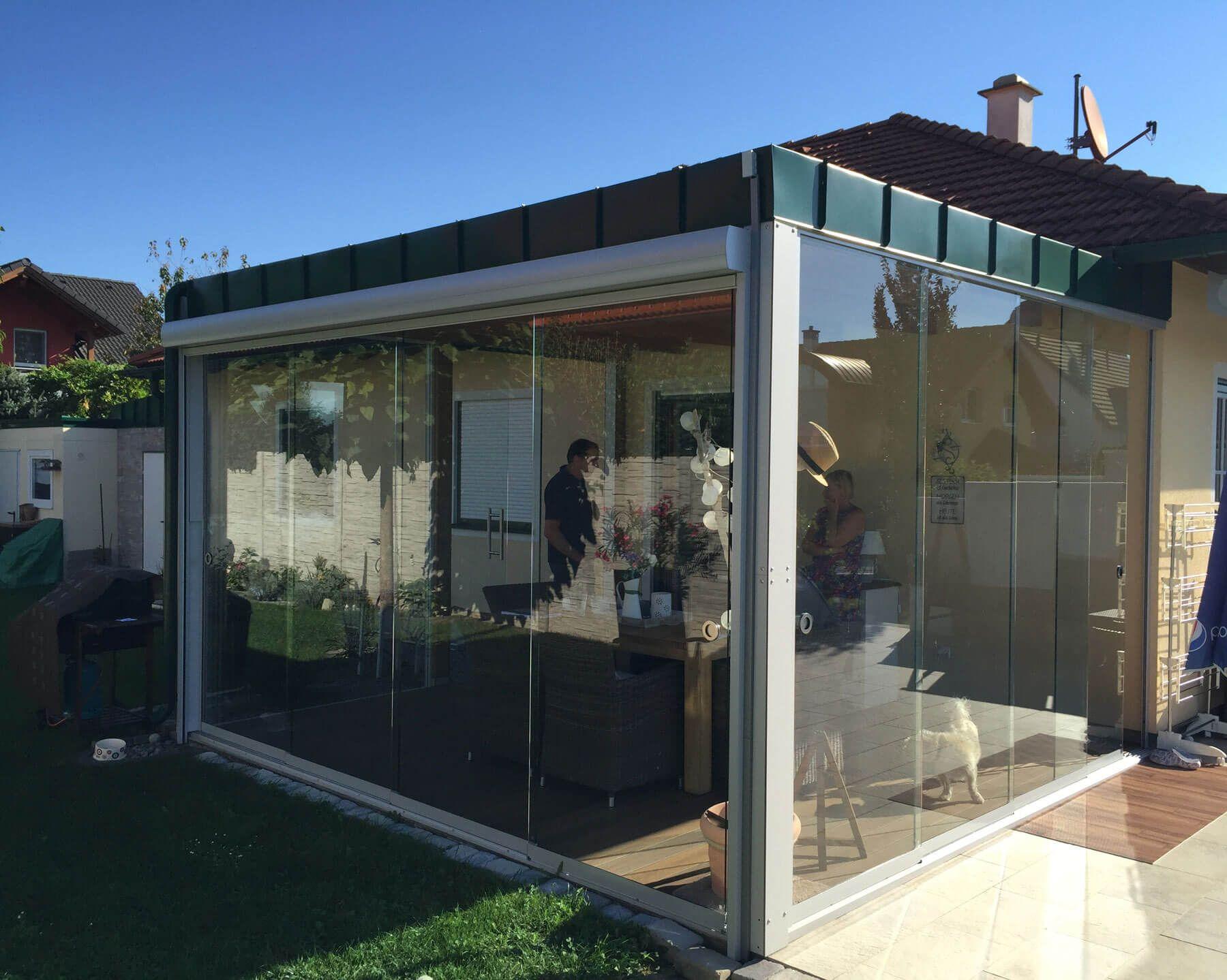 Sunflex Schiebetueren Für Terrasse | Balkon- & Terrassenverglasung ... Schiebeturen Fur Die Terrasse