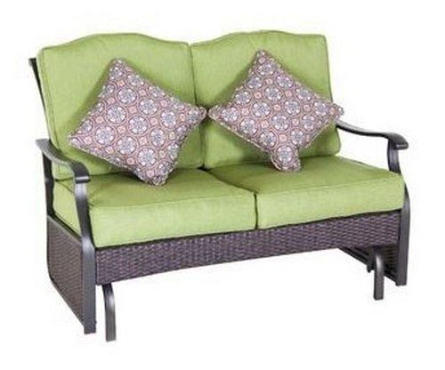 efe27d7933e646d9b0b465d5728cbf1a - Better Homes And Gardens Colebrook Outdoor Glider Bench