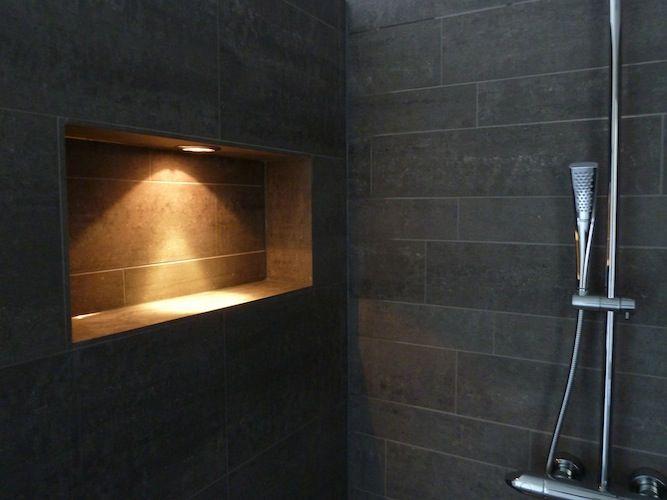 Pin Van Ferbo Montage Op Luxe Badkamer Installeren Douche Ruimtes Douche Badkamer Nis