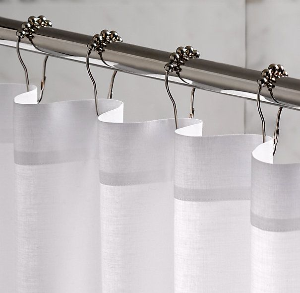 Rollerball Shower Curtain Rings Set Of 12 Curtains With Rings