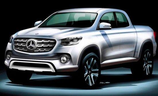 Mercedes Benz To Build Double Cab Mercedes Benz Vans Mercedes