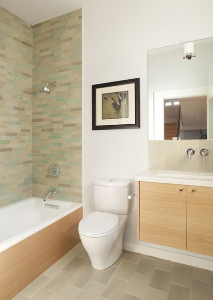 If You Choose Not To Install A Wall Mounted Toilet Then At The Very Least Choose A Skirted Mod Bathroom Design Small Modern Bathroom Small Bathroom