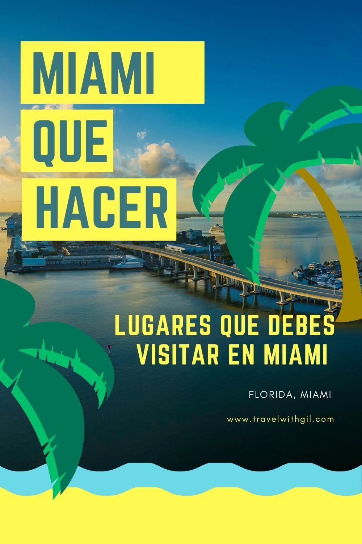 10 Lugares Que Debes Visitar En Miami Miami Lugares Para Viajar Estados Unidos