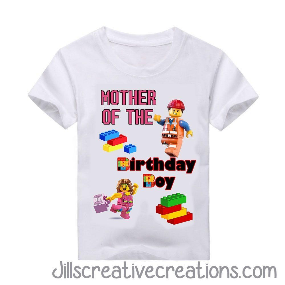 Mother Of The Birthday Boy Shirts