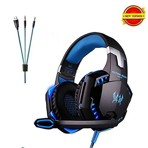 Daping Casque Gamer Casque Gaming Micro Filaire Basse Stéréo