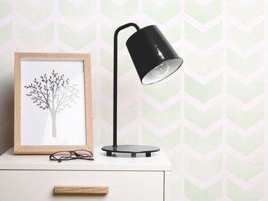 Lampe de bureau noire en métal tarim nos luminaires idéals