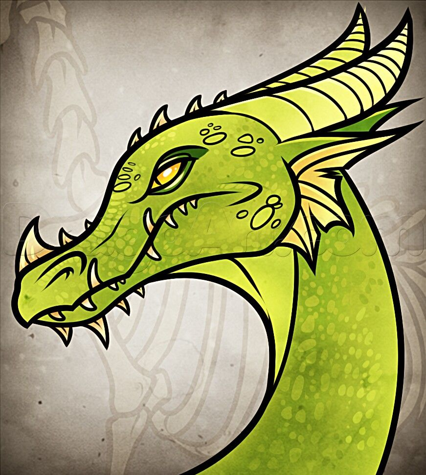 dragon green how to draw manga anime how to draw manga anime