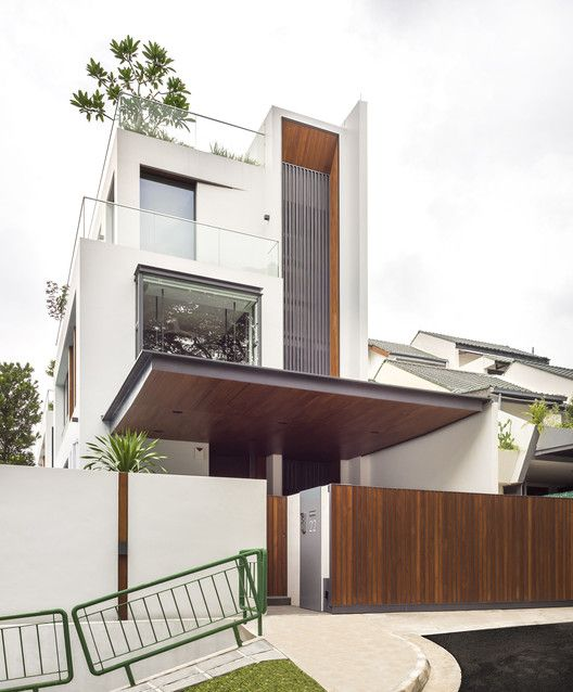 Gallery Of 22 Toh Yi Road Ming Architects 14 Modern House Exterior Facade House House Design