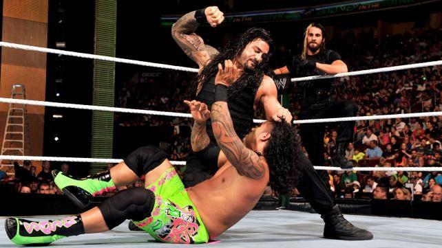 WWE.com: The Usos vs. The Shield - #WWE Tag Team Championship Match: Photos