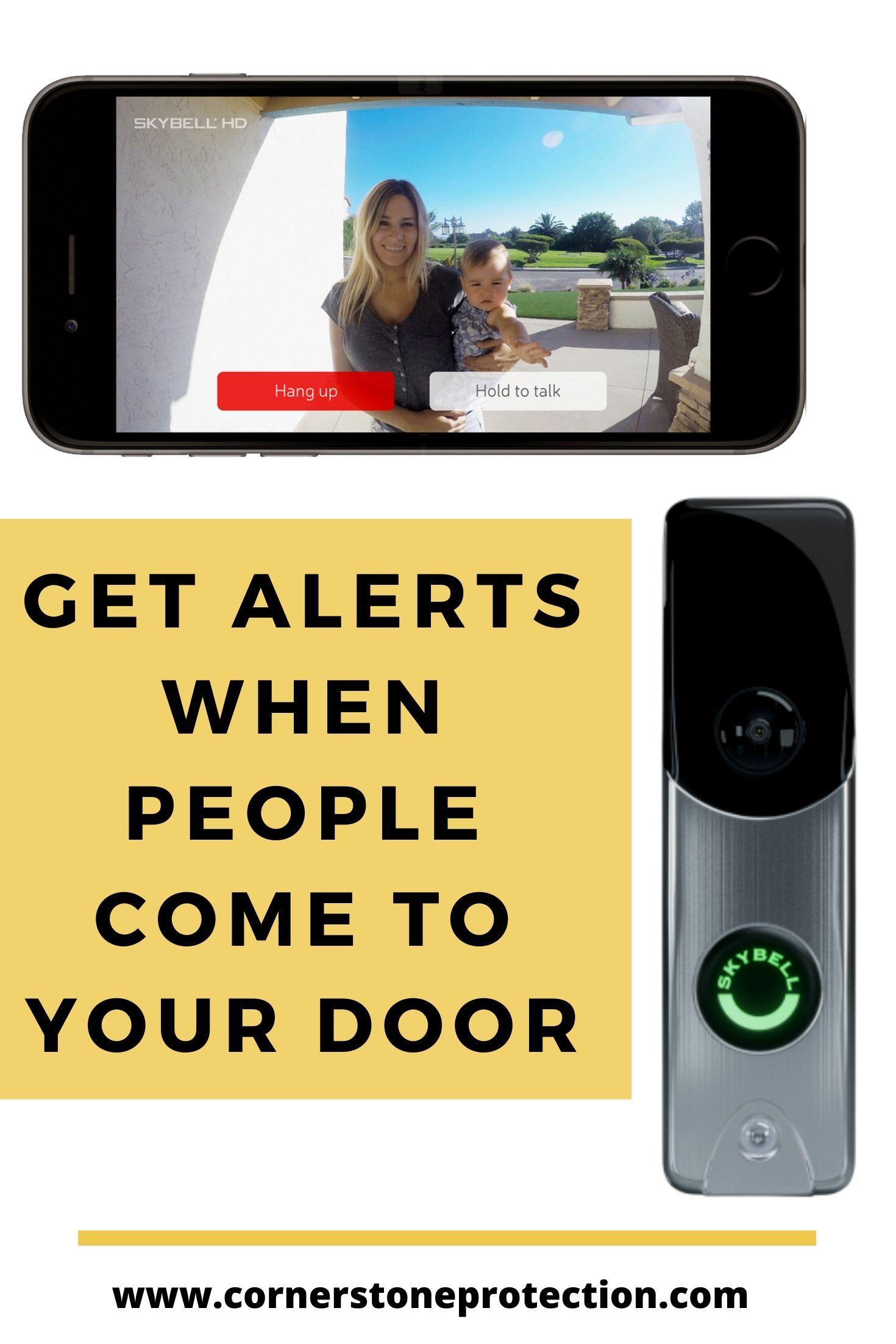 SkyBell Doorbell Camera SkyBell WiFi Video Doorbell