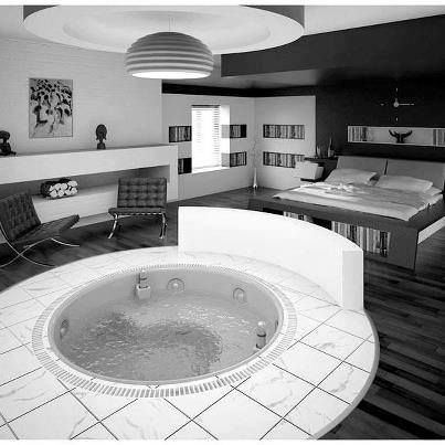 Just a Jacuzzi in my bedroom yknow.