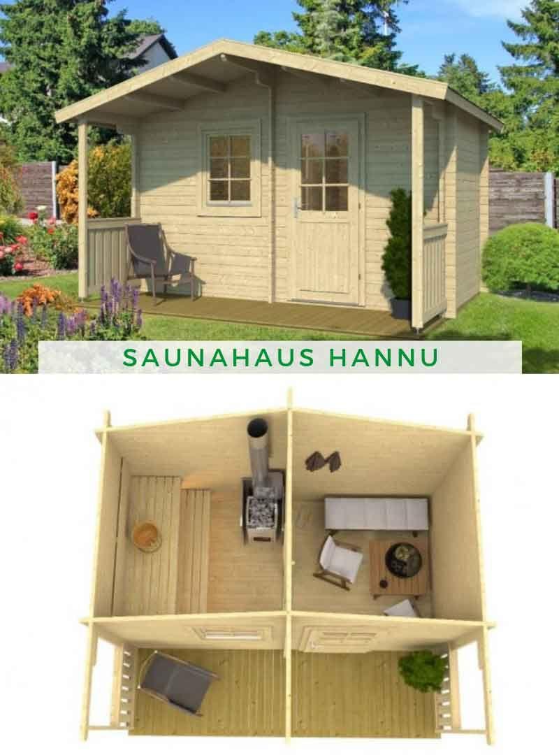Saunahaus Hannu Saunahaus Sauna Sauna Kaufen