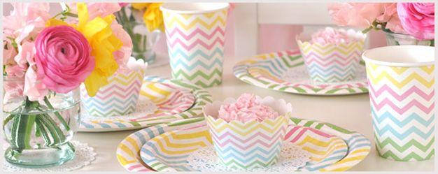 Chevron Pastel Party By Illume Design