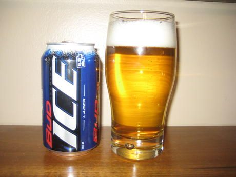 Bud ICE. At 5.5% ABV, Its Like Drinking A Bud Light With A