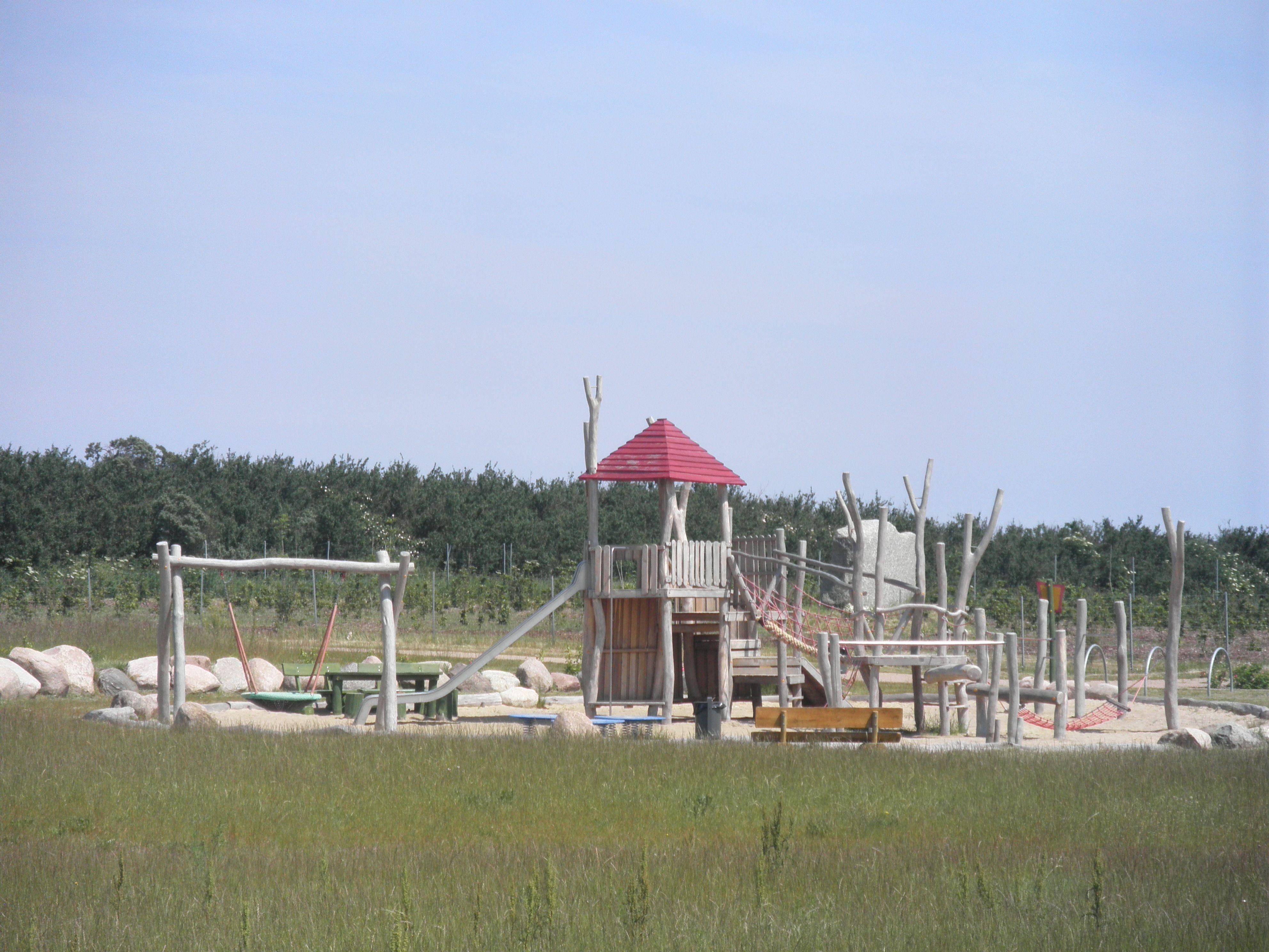 Glowe Abenteuerspielplatz im Kurpark Ferien