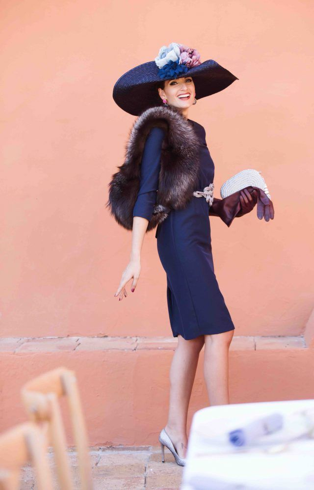 Look invitada boda: blue elegance | Vestidos invitada boda, Boda y ...