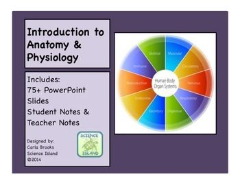Introduction to Anatomy & Physiology PowerPoint Lesson and