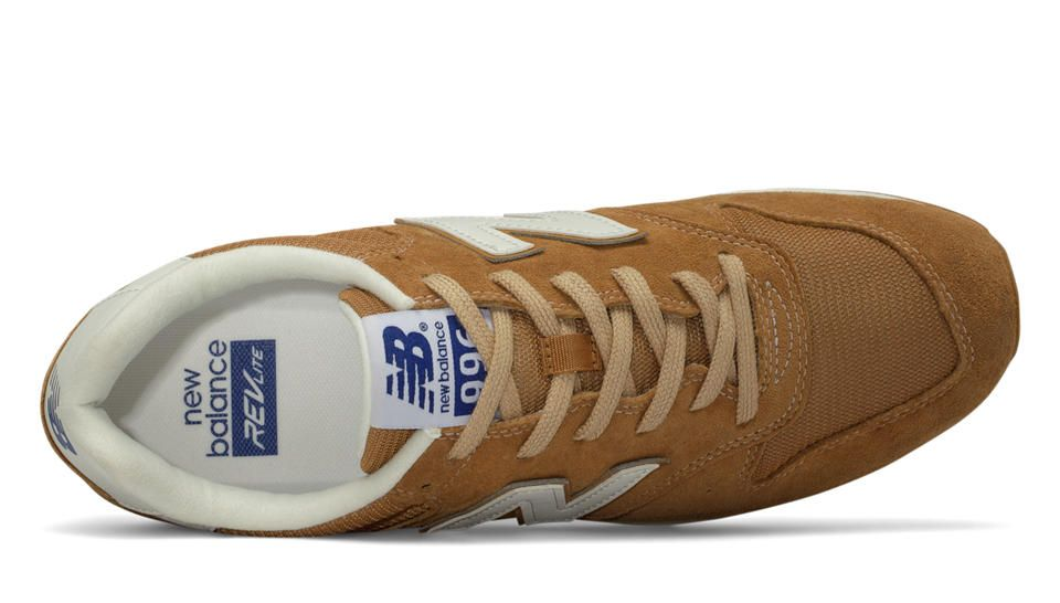 996 New Balance Suede, Brown Sugar with Tan