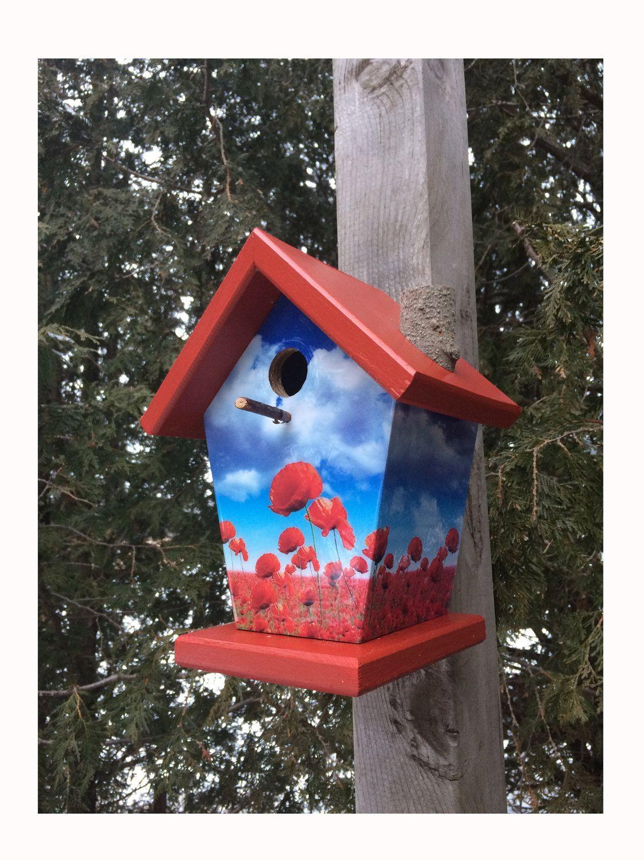 Remembrance Day Birdhouse By Www Buyabirdhouse Com Bird Houses Unique Bird Houses Birdhouse Designs