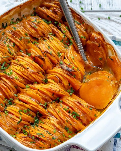 This Creamy Sweet Potato Bake is a Holiday Side Di