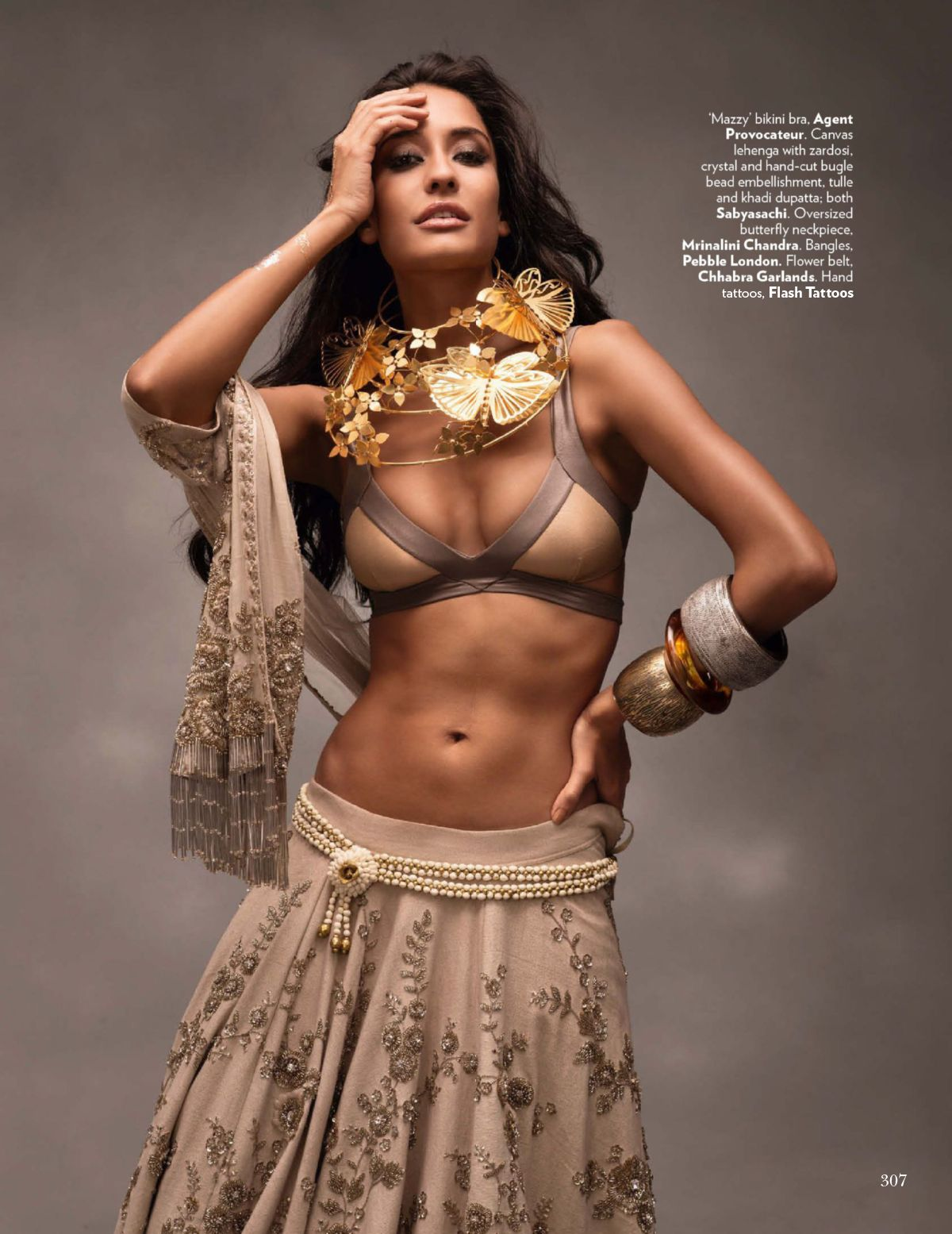 vogue india november 2014 | lisa haydon, dayana erappa + more