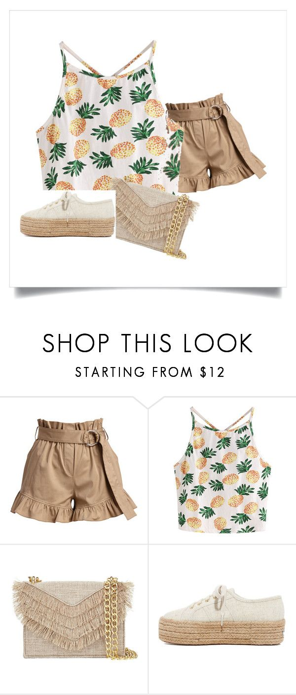 """""""celebrate summer"""" by cassandra-beauchamp on Polyvore featuring Cinq à Sept, WithChic, Cynthia Rowley and Superga"""