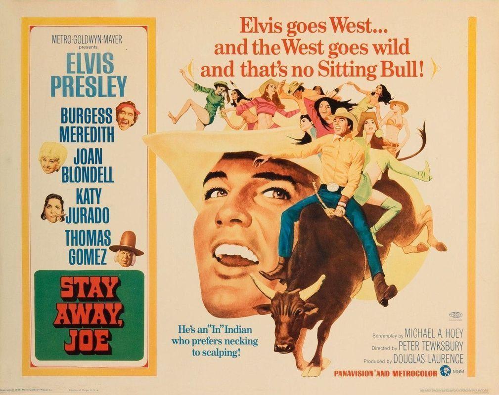 Elvis Presley - Stay Away Joe - Mini Print   Elvis presley and Products