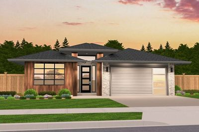 Plan 85229MS: Functional Modern Prairie One-Story House ...