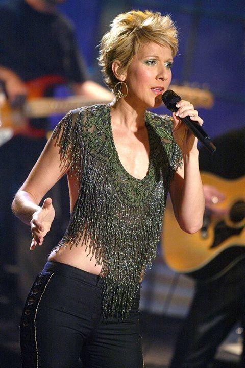 2018 Celebrity Birthday Celine Dion In Crop Top Pop Traditional Pop Dance Pop Soft Rock Pop Rock R B Ce Celine Dion Dion Celine
