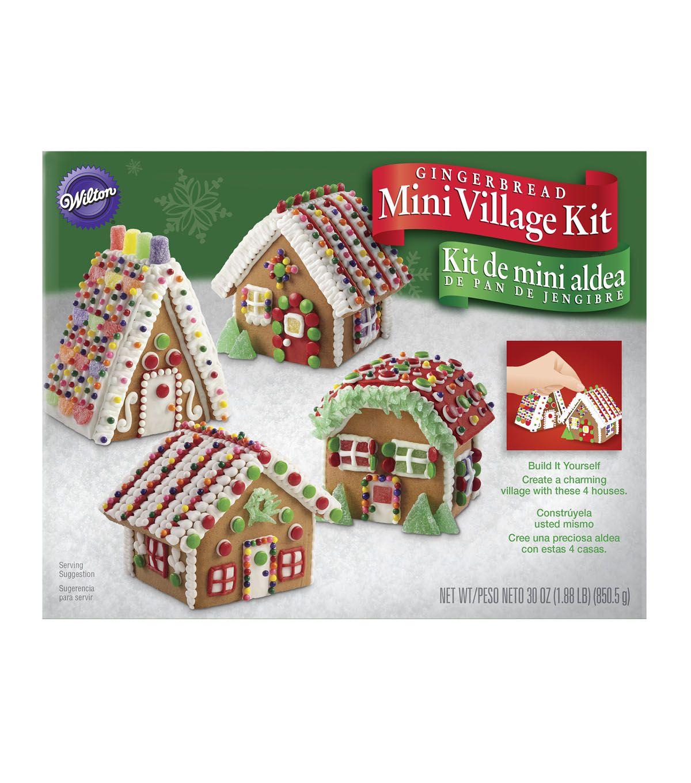Wilton Build It Yourself Mini Village Gingerbread House