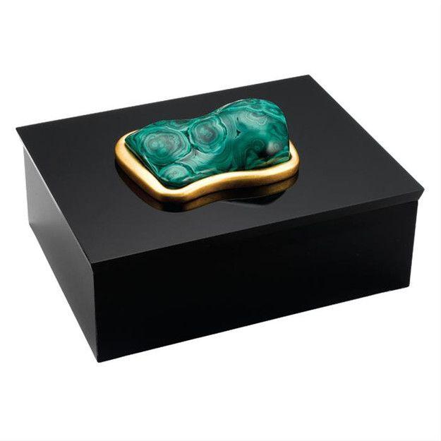 Luxury Wedding Gift Ideas: Luxury Wedding Gift Ideas, Designer 24kt Gold Malachite