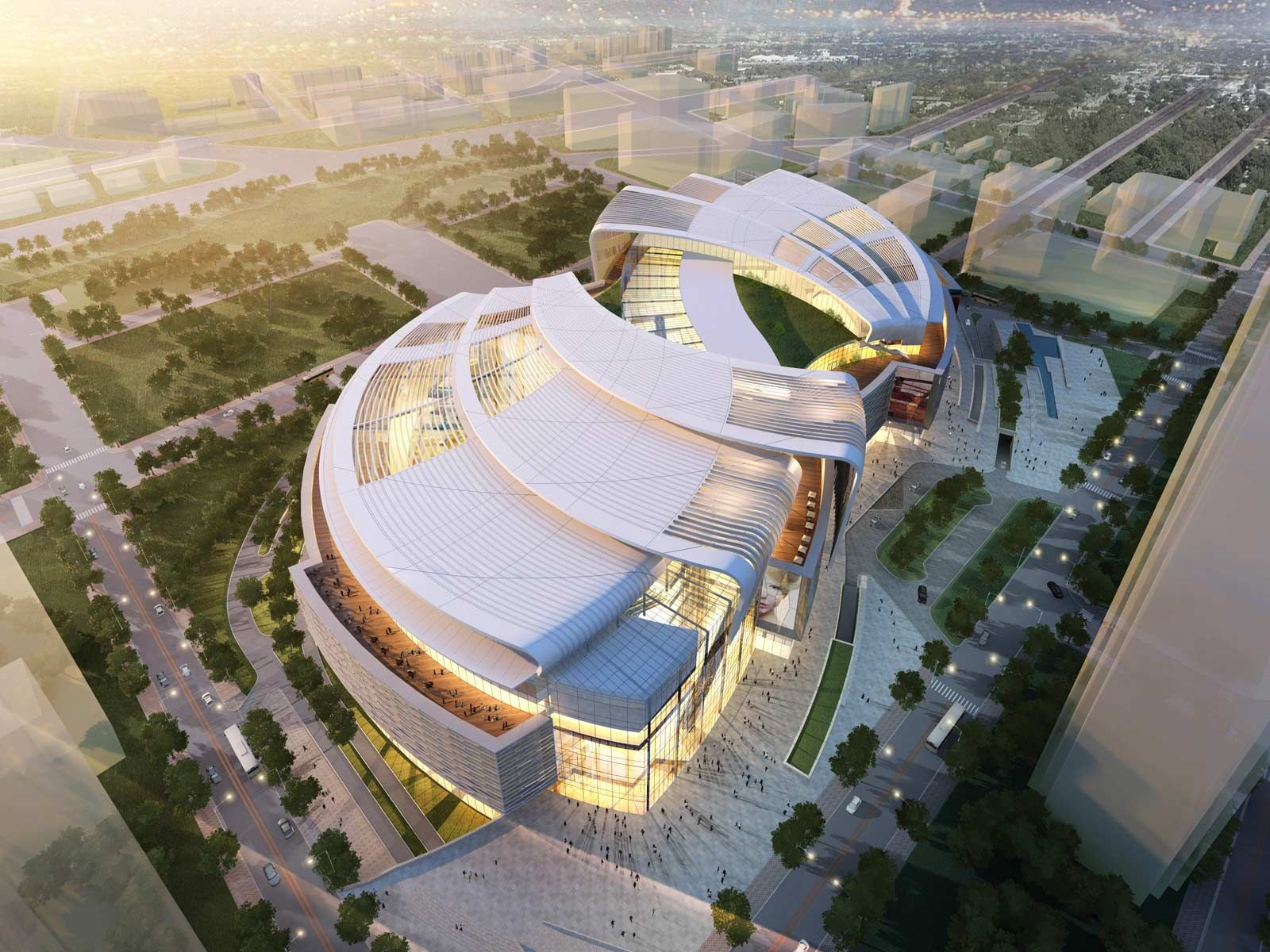 The Olympia 66 In Dalian China Arch Shopping Center